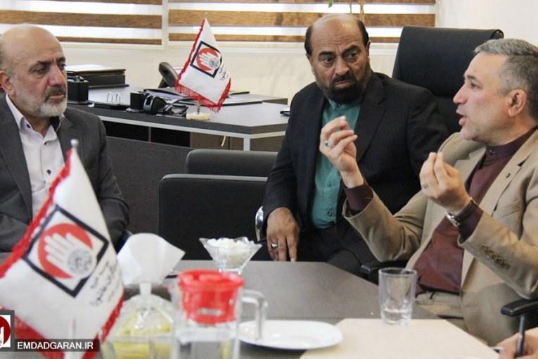 جلسه شورای معاونین با حضور دکترعلی ضیائی قائم مقام تولیت موقوفات نظام مافی