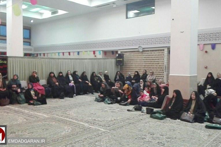 برگزاری همایش خانواده با نشاط در خیریه امدادگران عاشورا