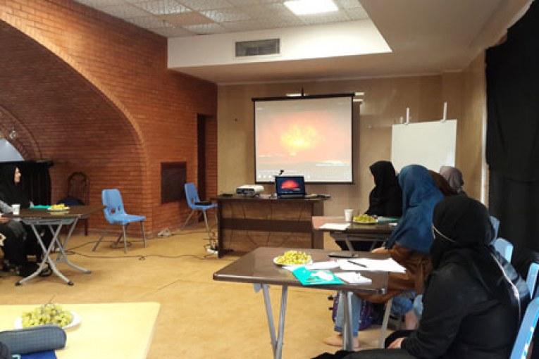برگزاری دوره معنویت درمانی برای مددجویان