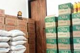 توزیع مواد غذایی بین مددجویان امدادگران سمنان