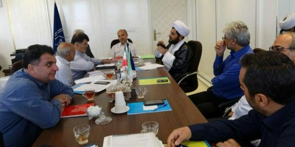 تشکیل جلسه هیات مدیره امدادگران عاشورا تبریز با حضور اعضاء هیات مدیره و بازرس قانونی