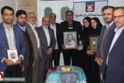 حضور چهار فرزند شهید در جمع بانیان تاسیس شعبه خراسان شمالی