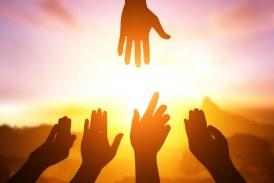 طرح دست در دست خداوند