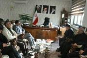 دیدار مدیرعامل امدادگران اذربایجان شرقی با فرماندار اسکو