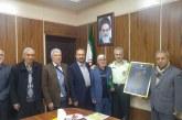 دیدار رئیس هیات مدیره و مدیر عامل امدادگران ارومیه با فرمانده نیروی انتظامی استان