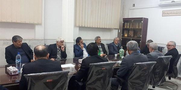 جلسه هیئت مدیره امدادگران کاشان با حضور فرماندار محترم کاشان
