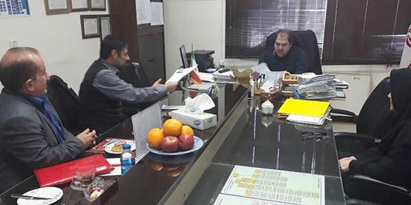 برگزاری جلسه امدادگران گیلان با مدیران بیمارستان امام خمینی