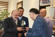 قدردانی خیریه از مدیرعامل صندوق قرض الحسنه بانک پارسیان