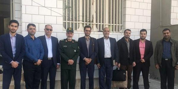 نظارت ستادی مدیرعامل و کادر خیریه از استان بوشهر