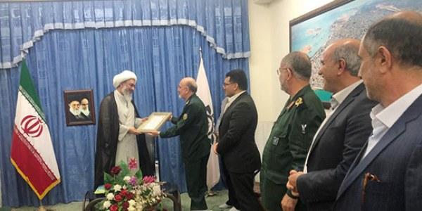 جلسه هیات امنای امدادگران بوشهر با حضور نماینده ولی فقیه