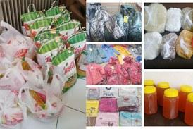 اهدا سبد مواد غذایی و بسته های حمایتی به مددجویان امدادگران ارومیه