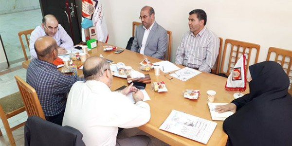 جلسه هیات مدیره امدادگران زنجان با محوریت فعال سازی کمیته بانوان