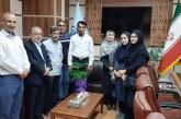 دیدار کادر اجرایی امدادگران خراسان شمالی با مدیر کل تامین اجتماعی استان