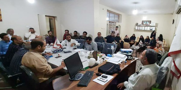 هم اندیشی امدادگران خرمشهر با کارآفرینان