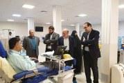 بازدید از موسسه خدمات درمانی هدی به میزبانی رییس هیات مدیره تداک مهندس سید حسین لسان