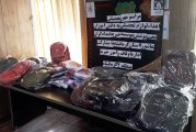 اهدای لوازم التحریر  ۴۵ دانش آموز تحت پوشش امدادگران عاشورا کرمانشاه