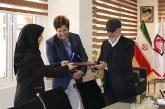 بازدید دکتر مالمیر سرپرست اداره صدور پروانه های معاونت درمان دانشگاه شهید بهشتی از موسسه امدادگران